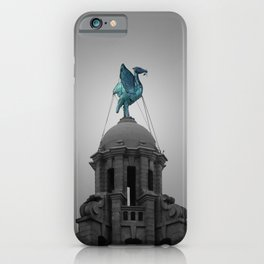 Liverbird in Piercing Blue iPhone Case