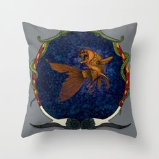 All that glitters... //color//framed// Throw Pillow