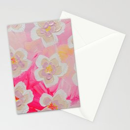 Pink Orchard Stationery Cards
