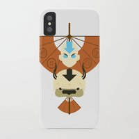 airbender iPhone & iPod Cases featuring Yip Yip by Ashley Hay