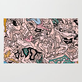 Kamasutra LOVE - Flesh Pink Rug