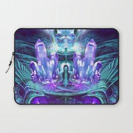 Expanding horizons - Visionary - Fractal - Manafold Art Laptop Sleeve
