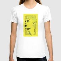 neymar T-shirts featuring World Cup Edition - Neymar / Brazil by Milan Vuckovic