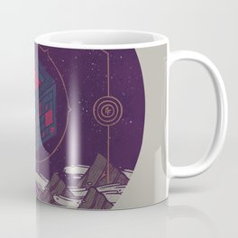 It Appeared in the Night Sky, and It Made the Wind Sharp Coffee Mug