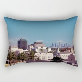 Hollywood to Downtown Los Angeles Rectangular Pillow