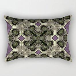 Victorian Art Deco Medieval Pattern SB41 Rectangular Pillow