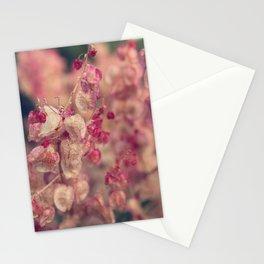 Rumex flower Stationery Cards
