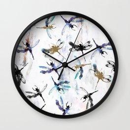 Dragonfly dreamer Wall Clock