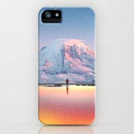 Mount Rainier Washington State iPhone Case