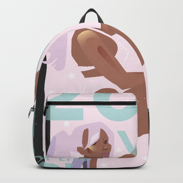 e7435ff4b8 Black Girl Magic 2018 Backpack by peathefeary