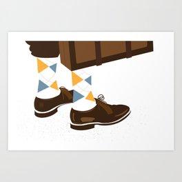 Dandy Shoes Art Print