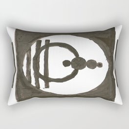 Parade of the planets Rectangular Pillow