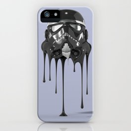 Shadowtrooper Melting 01 iPhone Case