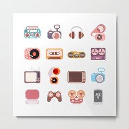 Home Electronics Metal Print