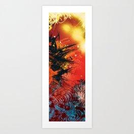 Glorio Galaxy (twins) [right] Art Print