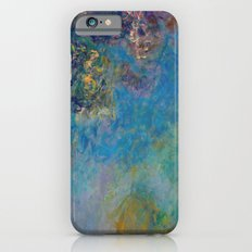 Wisteria by Claude Monet iPhone 6s Slim Case