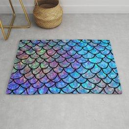 Colorful Mermaid Scales Rug