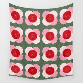 Good Morning Flower Wall Tapestry