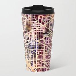Washington DC City Street Map Travel Mug