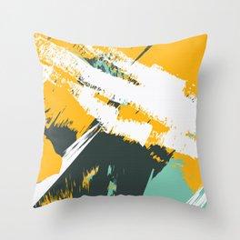 Spring Grunge Throw Pillow