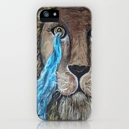 His Eye Upon Me iPhone Case