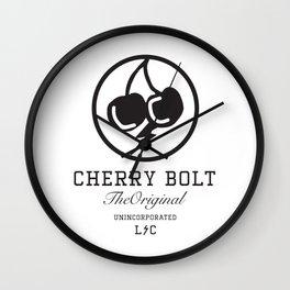 CHERRY BOLT Wall Clock
