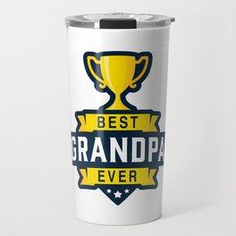 Best Grandpa Ever Travel Mug