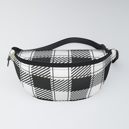 Twisted Classic Plaid Fanny Pack