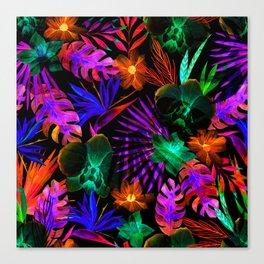 unique florals ii Canvas Print
