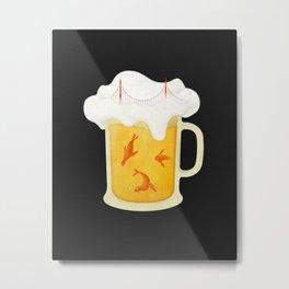 San Francisco Beer Metal Print