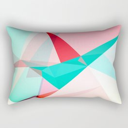 FRACTION - Abstract Graphic Iphone Case Rectangular Pillow
