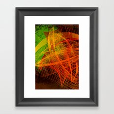 String Theory 02 Framed Art Print