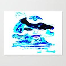 Water Women_02 Canvas Print