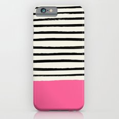 Watermelon & Stripes iPhone 6s Slim Case