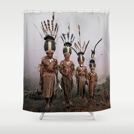Culture and Customs Shower Curtain