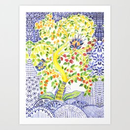 Fruit Tree of Life Art Print