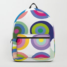 Colour Fields Round Backpack