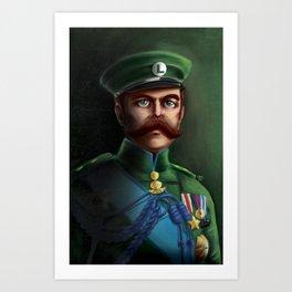 Lieutenant Luigi Art Print