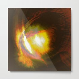 dragon eyes  Metal Print