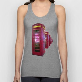 Space Beaming Boxes Unisex Tank Top