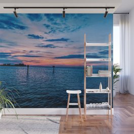 Sunset on the Gulf of Mexico Wall Mural