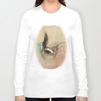 all seeing eye Long Sleeve T-shirts featuring All Seeing Eye by Fran Walding