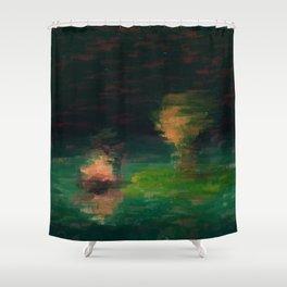 Midnight Meeting Shower Curtain