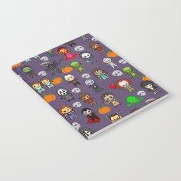 halloween horror special blanket Notebook