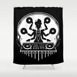 Disco Shiva Shower Curtain