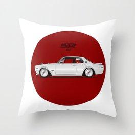 Hakosuka Throw Pillow