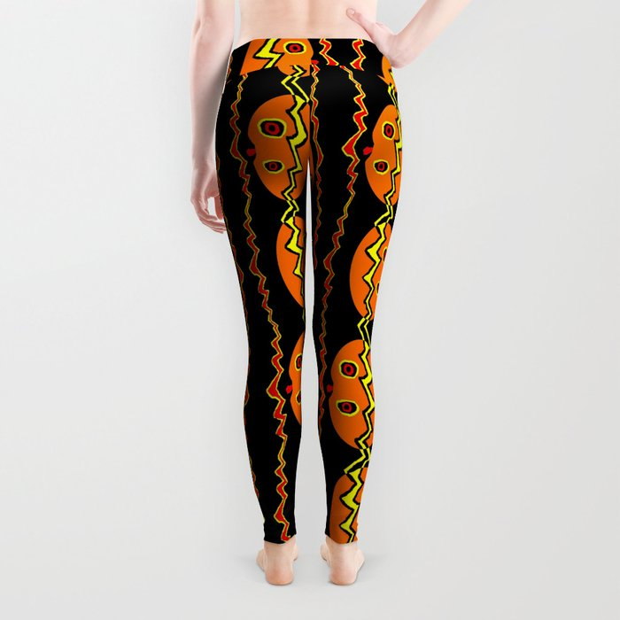 Citrouille 02 Leggings