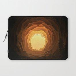 Cave, Papercut lightbox Laptop Sleeve