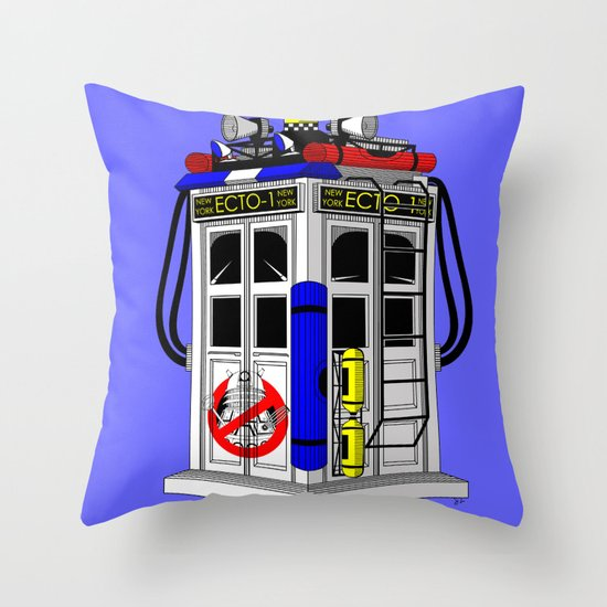Tardis-1 Throw Pillow