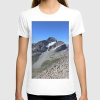 archan nair T-shirts featuring Piz Nair View by Helle Gade